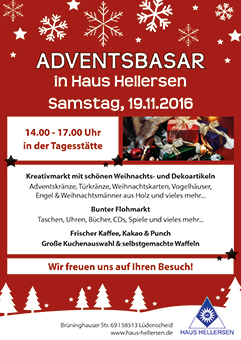 Adventsbasar in Haus Hellersen